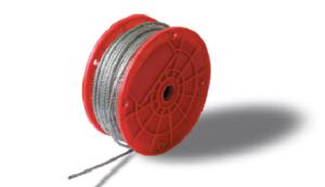 cable de acero fibras plasticas