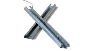 perfil sujetador fibras plasticas